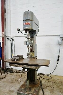 Edlund Drill Press Edlund Tapping Machine Drill &Tap  Clausing