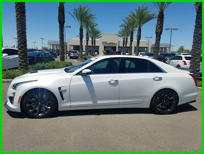 Cadillac CTS  2017 Certified 6.2L V8 16V Automatic RWD Bose Premium OnStar