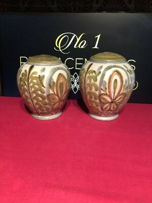 "2 x Denby Glyn Colledge Lamp Base 6.5"" And 6.25"""