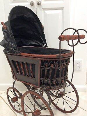 Large Reproduction of a Vintage Antique Doll Carriage/Buggy LOCAL PICK UP ONLY!!