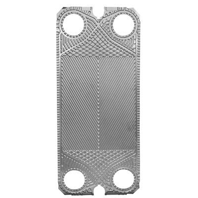 Toolots Low Delta Replacement of Alfa Laval Stainless Steel 316 M6B Plate 10 PCS