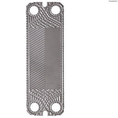 Toolots Gasketed Plate Heat Exchanger replacement M6M Plate of Stainless Steel 3