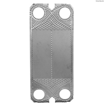 Toolots Low Delta Plate for Heat Exchanger M15B Replacement Stainless Steel 5PCS