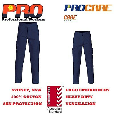"""1 pack Cargo pants Cotton Drill Heavy Duty 8 pockets thickest 77R 30"""" 112R 44"""""""
