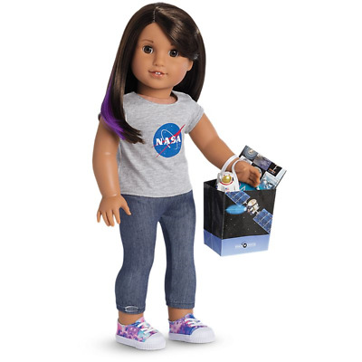 """American Girl Doll Luciana's Visitor Center Acces & Leggings Set for 18"""" Doll"""