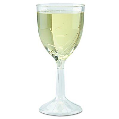 WNA CWSWN6 One PC Wine Glasses 8 OZ Clear 6 PARTY