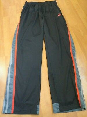 Adidas Basketball/Track Pants Boys large Red Black Grey Youth: L 14/16