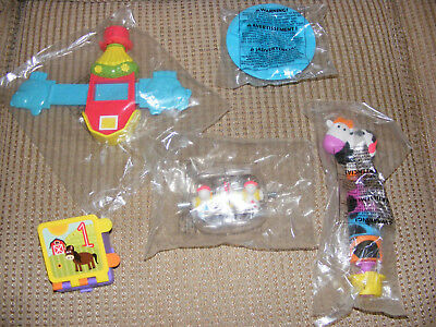 Evenflo Exersaucer Moovin & Groovin Activity Center Lot Of 5 Replacement Parts