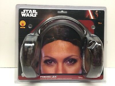 NEW Star Wars Princess Leia Headband Hair Buns Rubie's 8230 Costume FREE SHIP