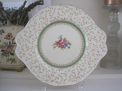 Beautiful Vintage Paragon Brackenmore Fine Bone Cake Plate