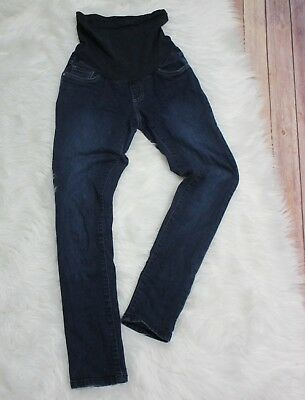 00759a93354df Oh Baby by Motherhood Maternity Jeans Womens size Small Dark Wash Stretch