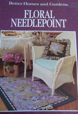 Better Homes and Gardens: Floral Needlepoint - Brosche, Nadelkissen, Bilder u.a.