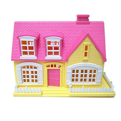 EP_ Lovely Window Door Openable Mini 3D Toy House Cottage Kids Doll  Delightful