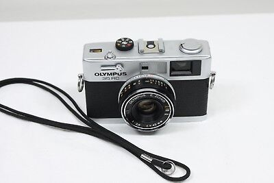 Olympus 35 RC 35mm Rangefinder Film Camera with fixed 42mm f/2.8 lens.
