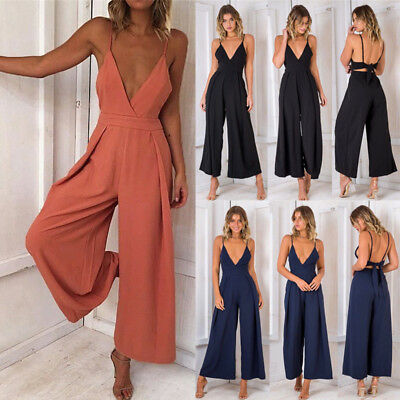 New Women Clubwear Pants Summer Playsuit Bodycon Party Jumpsuit&Romper Trousers