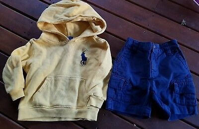 Ralph lauren top pullover24 months OR 2 years and pants 18 months toddler