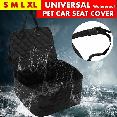 Waterproof Pet Dog Car Seat Cover Basket Protector Mat Puppy Travel Carrier F7