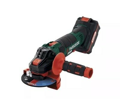 Parkside  Cordless 20V Team Li-ion +Battery & Charger Angle Grinder PWSA 20-LiB2