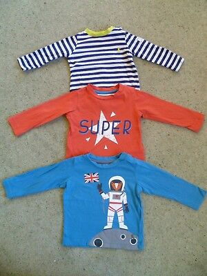 3 X Long Sleeve Baby Boys Joules Tops 6-9 Months