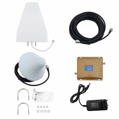 900Mhz/2100MHZ Signal 3G GSM LTE Booster Mobile Repeater Amplifier Booster~aR