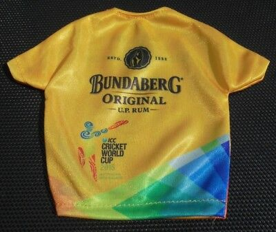 Bundaberg Rum Mini T-Shirt ICC Cricket World Cup 2015 - BUNDY RUM