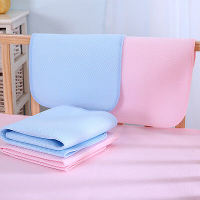 EP_ Baby Infant Diaper Nappy Urine Mat Waterproof Bedding Changing Cover Pad Eye