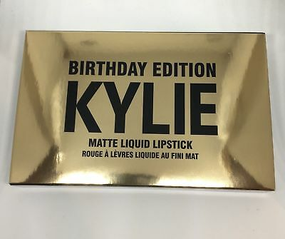 Kylie Jenner Cool Beauty Fun Birthday Edition Matte Liquid Mini Set
