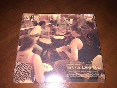 Various ‎Artists – The Rhythm Lounge Vol. 1 SEALED Large  CD ALBUM new Volume
