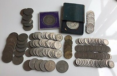 Job-Lot Of 20th Century British Coins George VI & Elizabeth,Inc 1951 Crown,