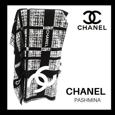 CHANEL Brand New VIP Gift Shawl Wrap Scarf Pashmina