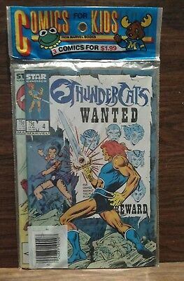 THUNDERCATS • 3 Issue Lot • # 1 4 6 • Factory Sealed !!! Never Opened !!!