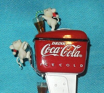 "Coca-Cola Ornament ""have A Coke And A Smile"" Second Issue  1990"