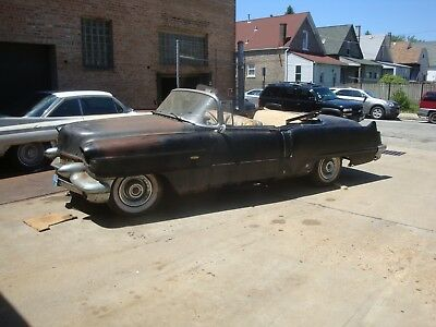 1956 Cadillac DeVille  1956 Cadillac Convertible, Same owner since 1957