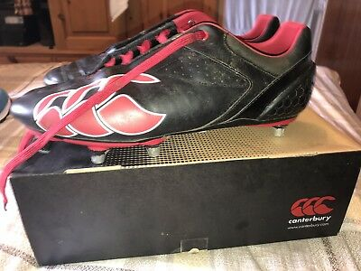 Mens Rugby Boots, Canterbury, Size 12