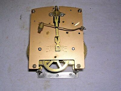 CLOCK  PARTS , CLOCK MOVEMENT  G W O,SMITHS  ENFIELD  s
