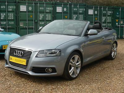 Audi A3 Cabriolet 2.0Tdi S Tronic, S-Line, Sat Nav, 63,000 Miles Only