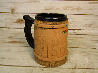 R Juskauskas Hand Made In Lithuania Stoneware Stein With Intricate Design