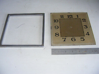 Antique Clock Parts - Clock Face  ( Spares Or Repair )