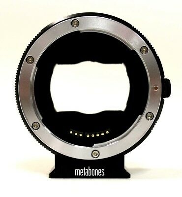 Metabones T Mark IV Canon EF/EF-S Lens to Sony E Mount T Smart Adapter