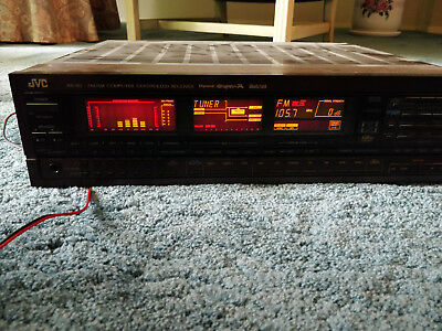 JVC RX-8V FM/AM Computer Controlled Stereo Receiver w/ Remote - WORKS GREAT