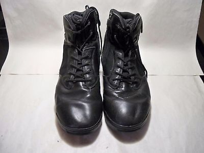 """MAGNUM Men's Black Military 6"""" Ankle Boots w/Zipper Size 12 Style 201/00097"""