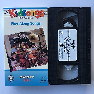 KIDSONGS VHS PLAY-ALONG Songs View-Master Kids Songs Sing ...