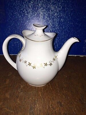 Royal Doulton Citadel Coffee Tea pot 19.5cm height, holds 2.5 pints to brim