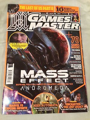 GamesMaster magazine #313 February 2017 Mass Effect: Andromeda