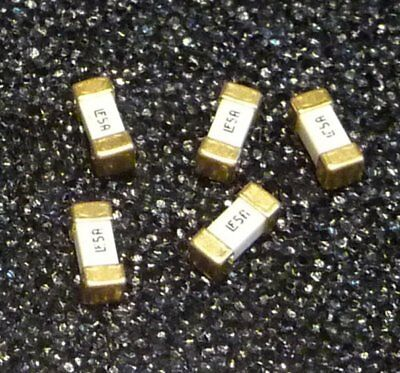 5x org. Littlefuse 5 A 125V super schnell SMD 6,1x2,7x2,7mm 451 Fuse 0451005