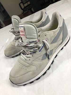 2a9fdbad76e Reebok Classic Leather x Thisisneverthat Cn1728 Steel Grey White Cobolt Size  13
