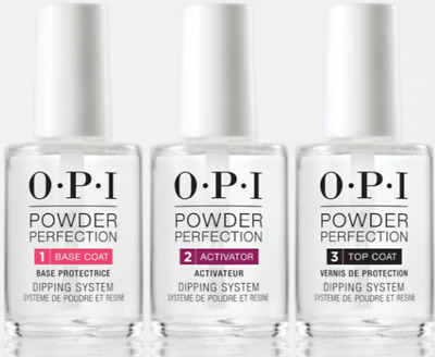 OPI Nail Powder Perfection Dipping System Liquid Essentials .5oz