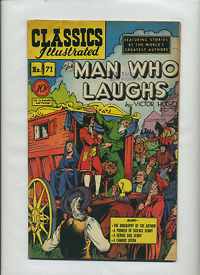 Classics Illus. 71 Man Who Laughs 74 Midshipman 75 Lady Lake 76 Zenda 1st Prints