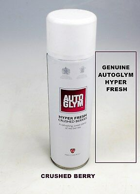 Genuine Autoglym Hyper Fresh Crushed Berry For Car Room Office Air Freshner