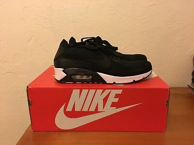 best service 21bf8 6b2a5 Nike Air Max 90 Ultra 2.0 Fly Knit Men Size 11 Black
